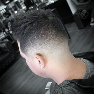 30 Medium Fade with Texture Top