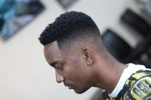 31 High Afro Fade