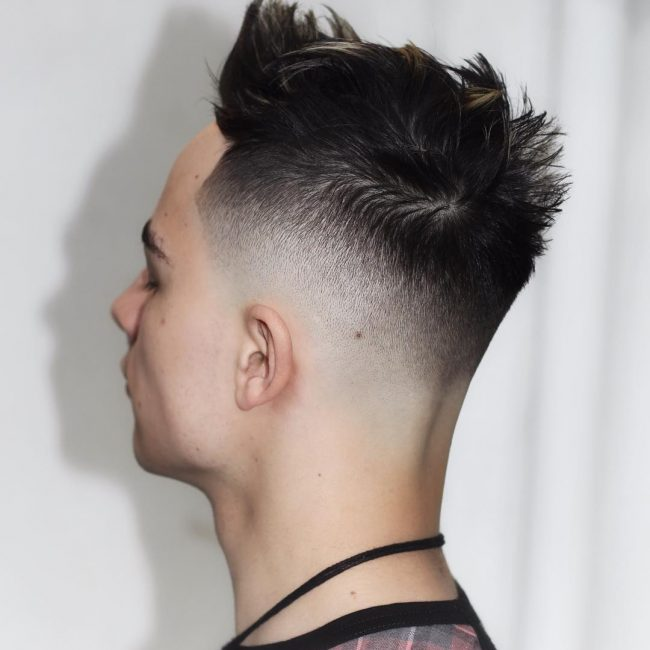 32 Attractive Spiked Top Hair