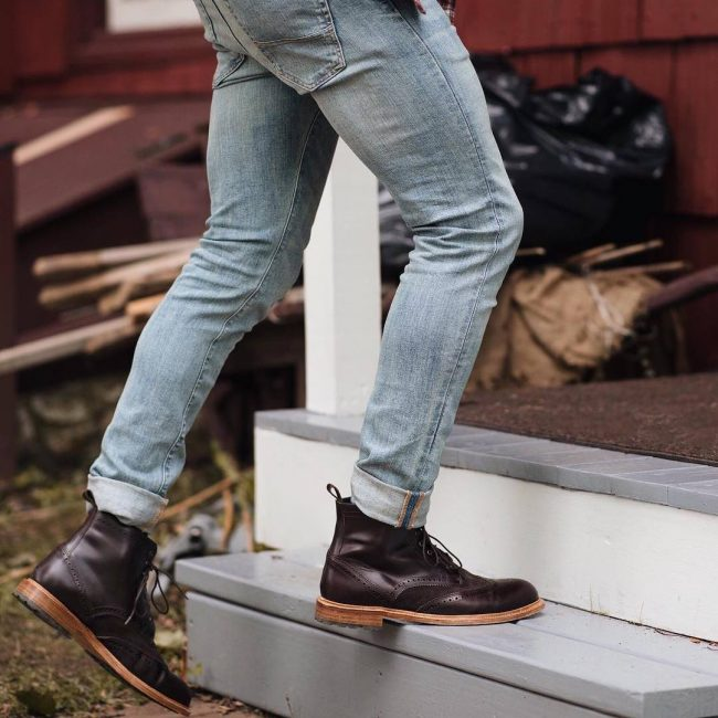 32 Jean Pants with Boots