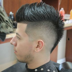 34 Spiked Mohawk
