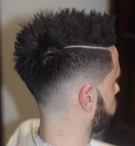 35 Dense Top And a Thick Side Parting