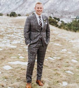 35 Nicely Patterned Wedding Suit
