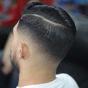 37 Contoured Gelled Hairstyle