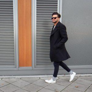 38 High-Fold Black Skinny Jeans