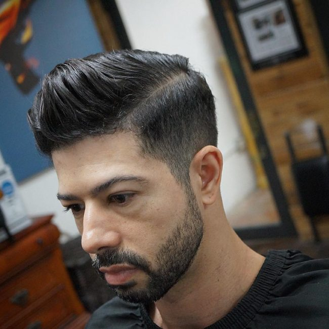 39 Dramatic High Pompadour