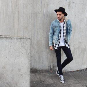 39 Fitting Black Skinny Jeans with Denim