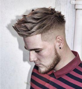 4 Full Spiky Top Hair