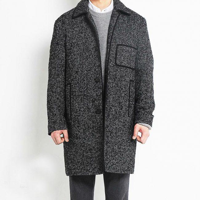 4 Grey Long Coat & Grey Trousers