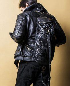 4 Leather Square Hybrid Bag