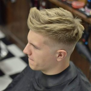 4 Skipped Fade Hairstyle