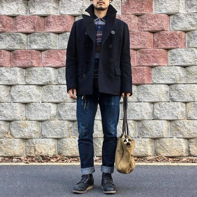 4 Trench Coat and Denim