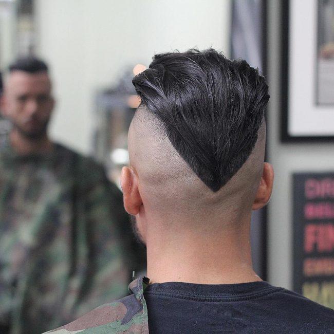 40 V-Cut Mohawk
