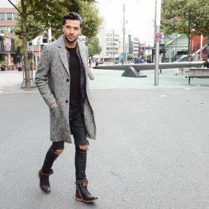 41 Street Look Black Skinny Jeans