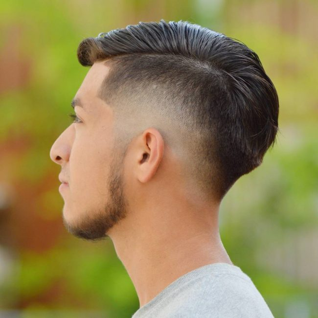 45 Zero Taper Fade Comb Over