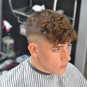 49 Natural Curls with High Fade