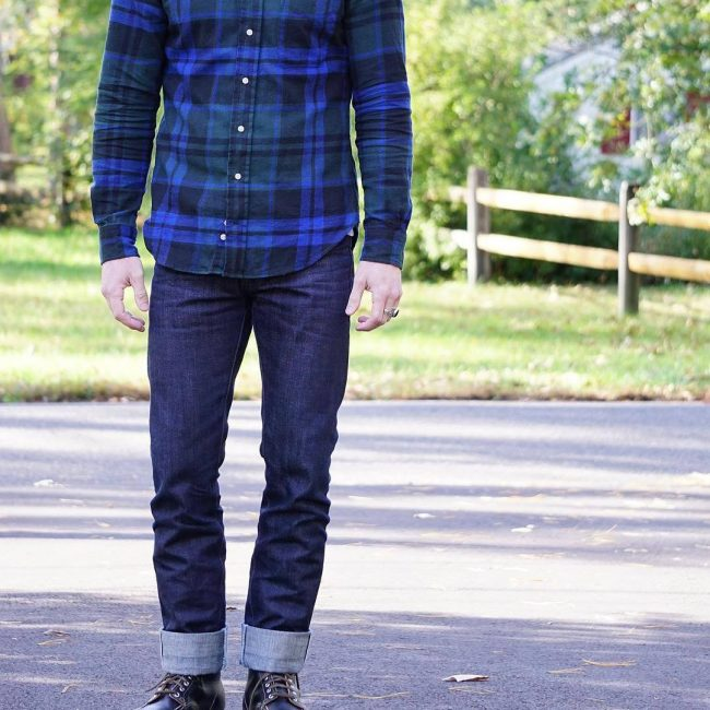 5 Blue Flannel Outfit