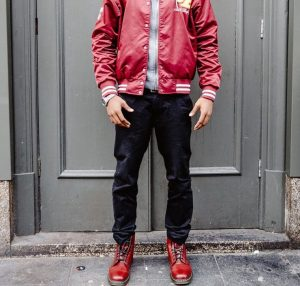 5 Cherry Red Boots & Cherry Red Jacket
