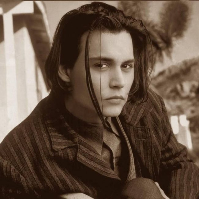 30 appealing johnny depp long hair ideas the perfect long haircut 5 flirty center part with undercut urmus Choice Image