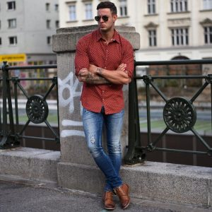 5 Nice Dress Shirt and Boots
