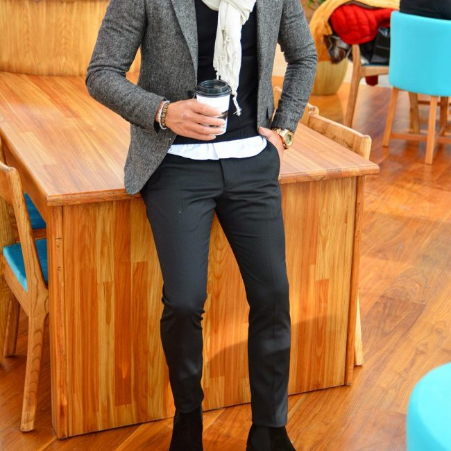 5 Urban Suit and Shirt Style