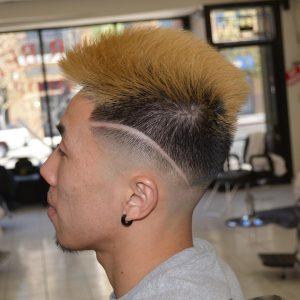50 Clean Mohawk-Style Cut