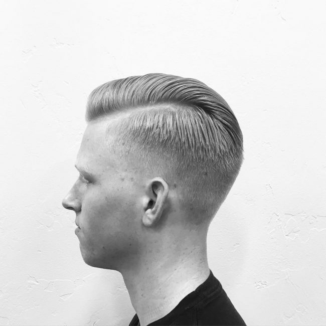 6 Clipper Cut and Tapered Comb Over