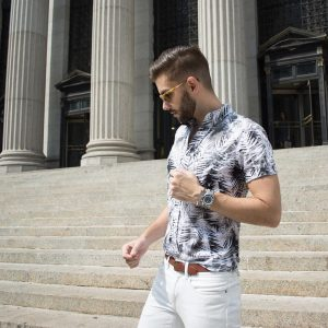 6 Cool Printed Short Sleeve Shirt