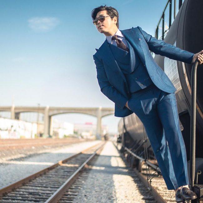 6-sky-blue-3-piece-suit-with-a-designer-half-coat