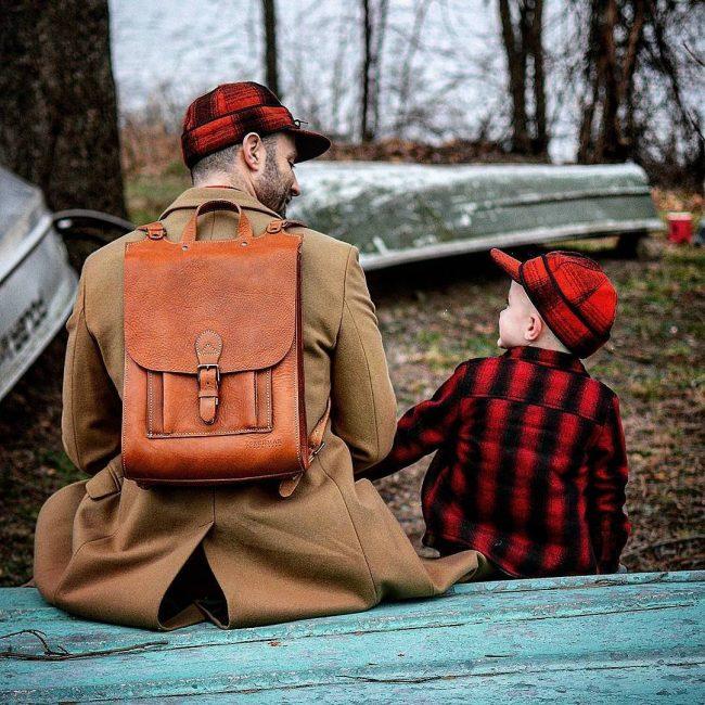 6 Vintage Style Backpack
