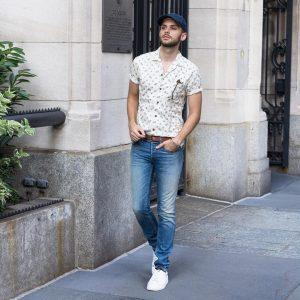 7 Button-Down Short-Sleeve Shirt