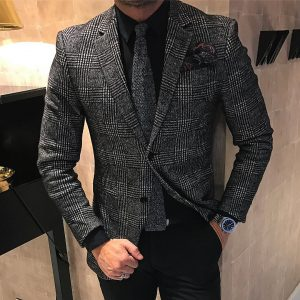 7 Cool Blazer with Different Shades of Grey