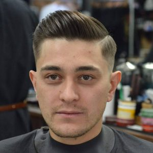 7 Manicured Comb Over for Thin Hair