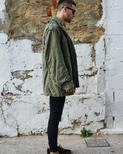 7 Military Jacket with Slim Jeans
