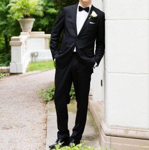 7 Slick Black Suit