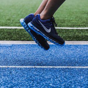 8 Glossy Loyal Blue Kicks