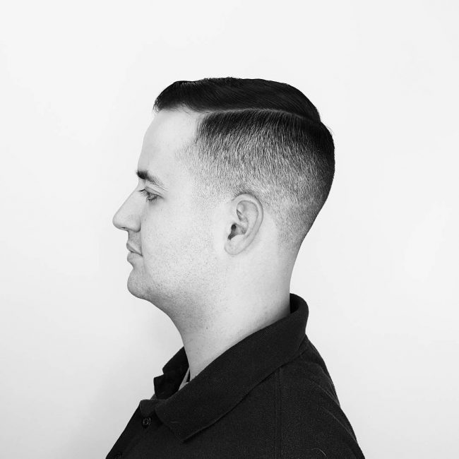 8 Taper Cut Vintage Haircut