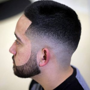 8 Tapered Buzz with Mid Fade