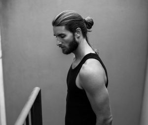 9 French Beard and Bun