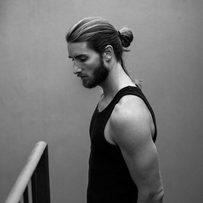 9 French Beard and Bun
