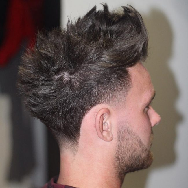 9 Spiked Hair with Smooth Cuts