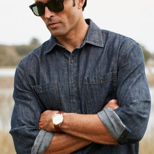 9 Wool Denim Shirts