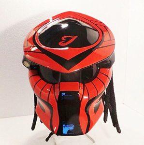 Alien Helmet, Predator Helmet, Motorcycle Helmet - costume (Handmade) - Thailand PDT1006RD