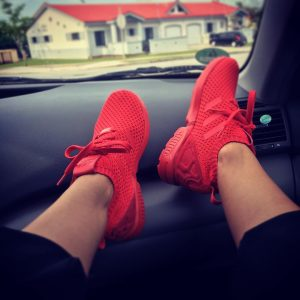 All Red Shoes 1