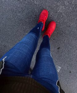 All Red Shoes 13