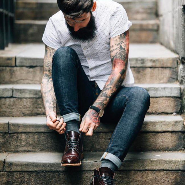 29c7421f3e618 50 Sensational Ways to Style Men's Ankle Boots - Choose Your Option