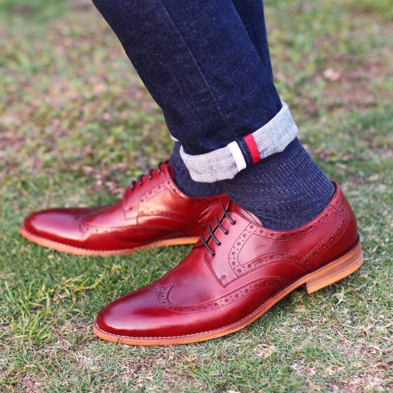 Burgundy Shoes 11