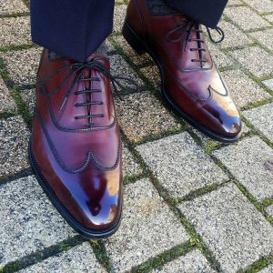 Burgundy Shoes 12