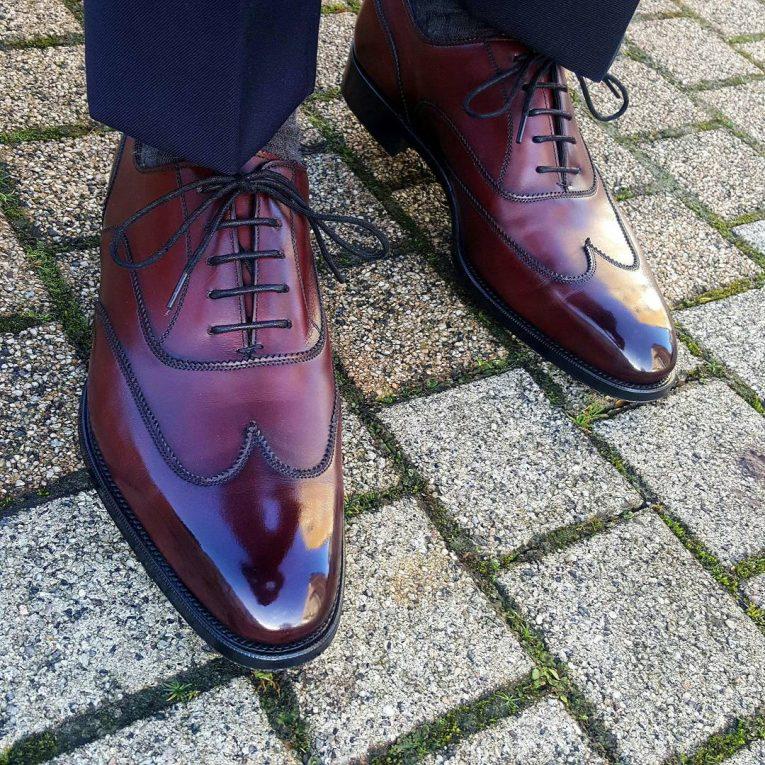 Burgundy Shoes 12