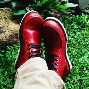 Burgundy Shoes 13